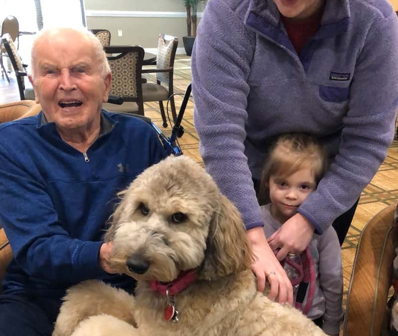 Furry Friends Bring Pet Therapy to Morning Pointe
