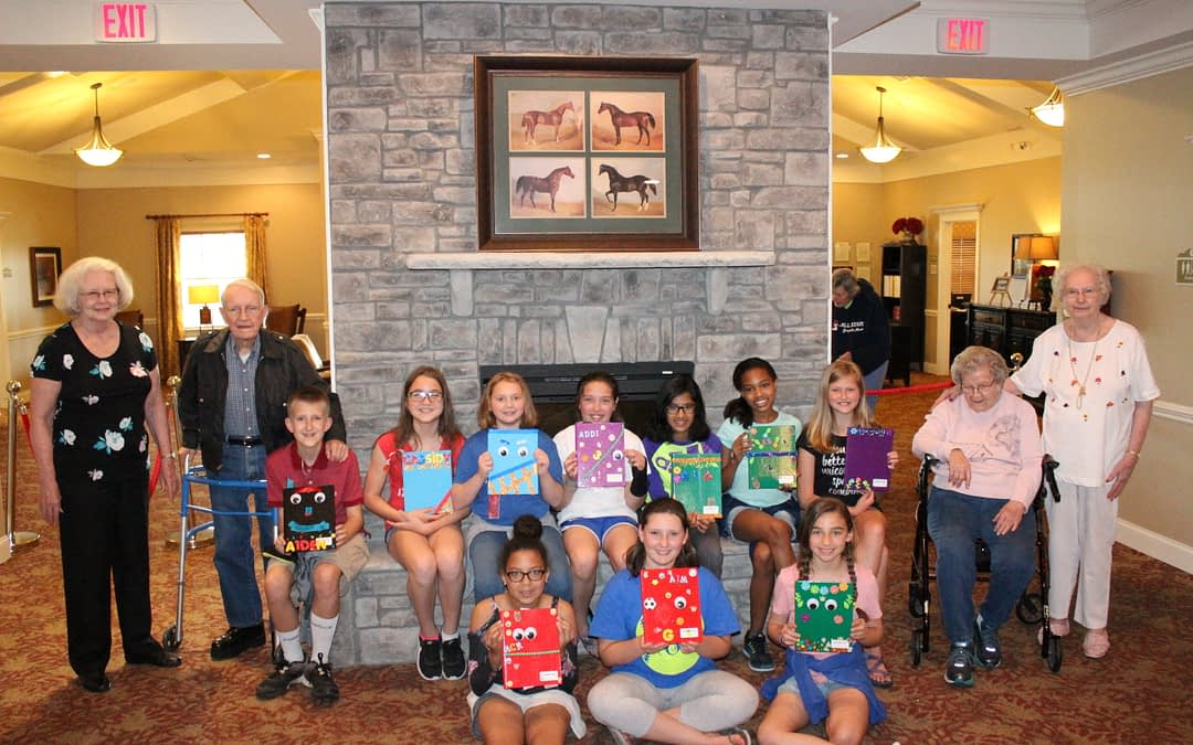 Morning Pointe Seniors, Local Students Learn Art of Journaling