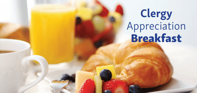 Clergy Appreciation Breakfast