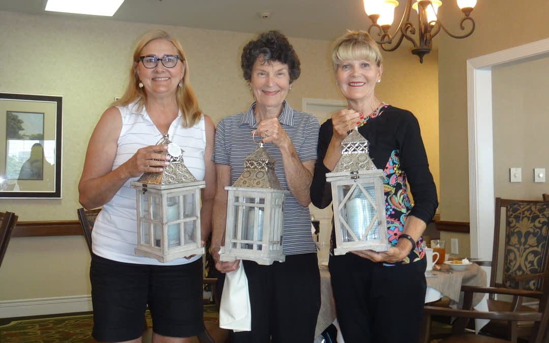 Morning Pointe Hosts Luncheon for Ladies Golf Tournament