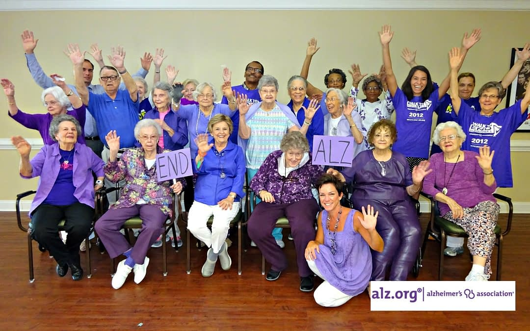Morning Pointe Goes 'All Purple' for Alzheimer's
