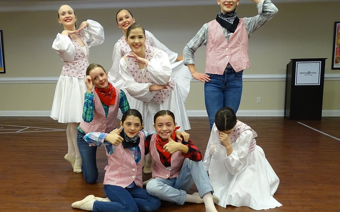 Chattanooga Ballet School Ensemble Performs at Morning Pointe