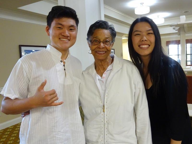 Collegedale Korean Church Members Visit Morning Pointe