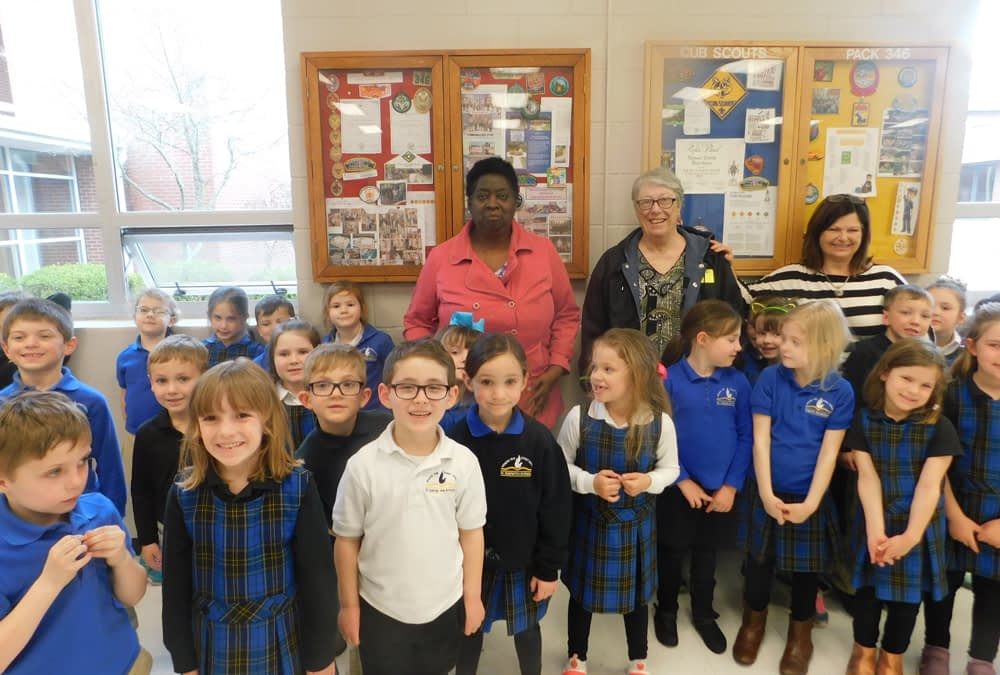 Morning Pointe Partners with St. Gabriel School