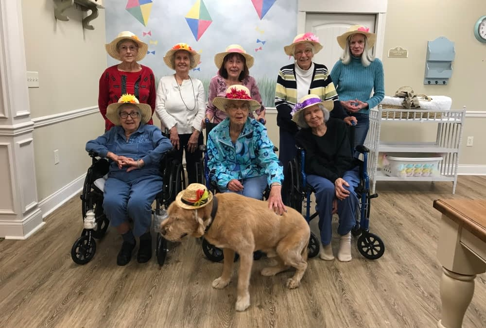 Pet Therapy Makes a Difference at Morning Pointe