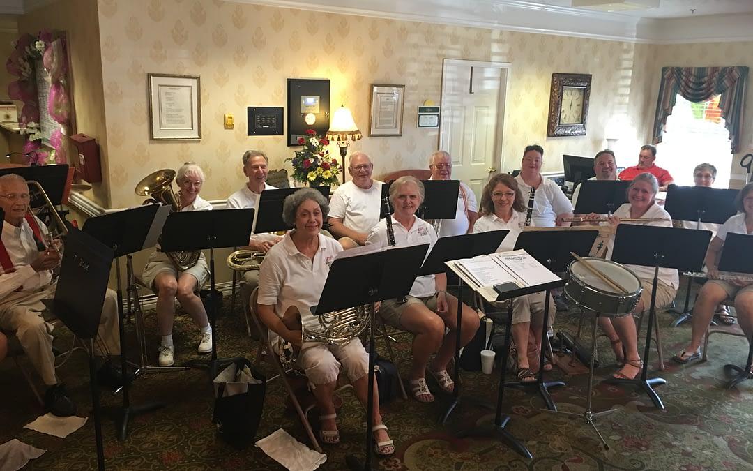Etowah Town Band Performs at Morning Pointe