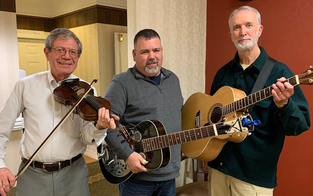 Local Band Performs at Morning Pointe