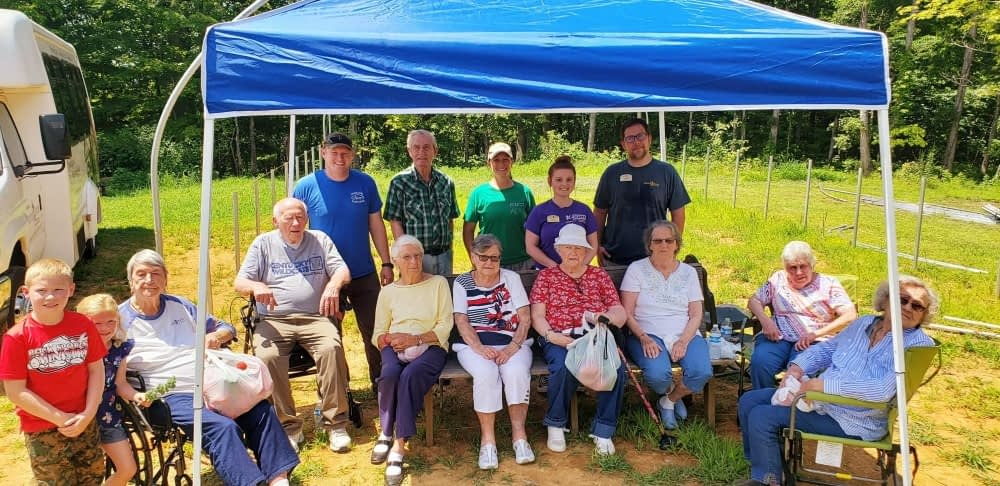 "Morning Pointe Residents Visit ""Farm-to-Table"" Partner Simple Harvest Homestead"