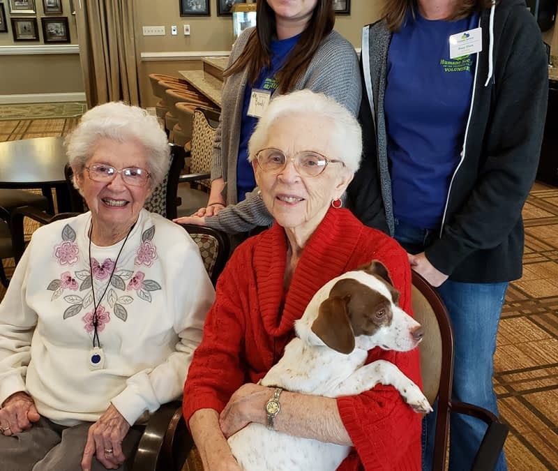 Local Humane Society Chapter Partners with Morning Pointe