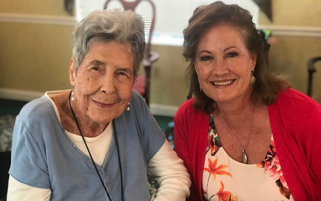Morning Pointe Family Members Brighten Residents' Days