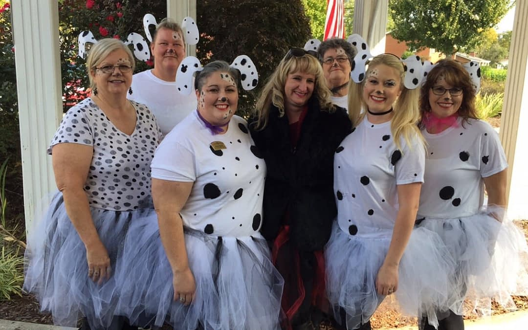 Trick-or-Treaters Flock to Morning Pointe for Halloween Fun