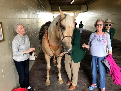 Morning Pointe Residents Visit Keeneland Racecourse