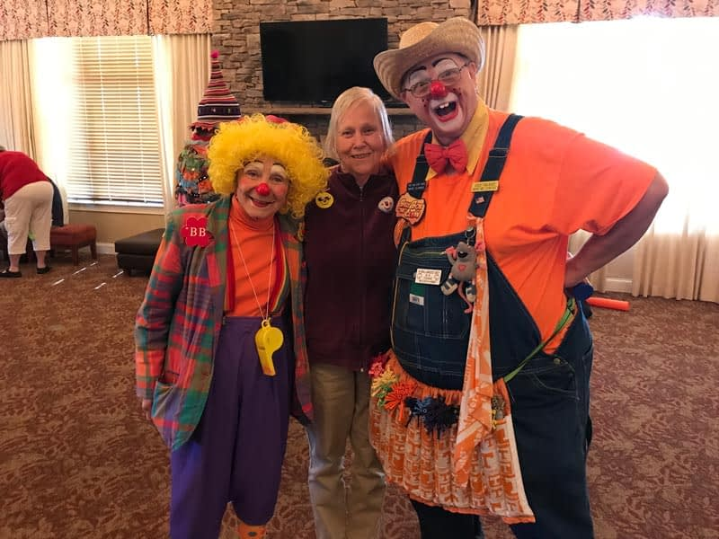 The Volunteer Clowns of Tellico Village Bring Laughter to Morning Pointe
