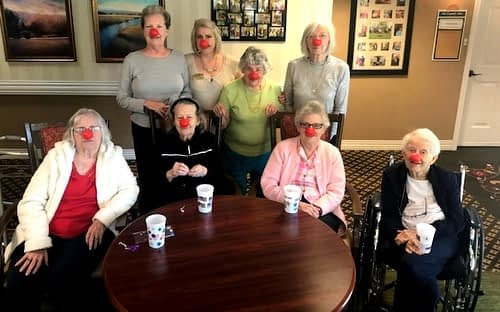 Morning Pointe Supports Red Nose Day Campaign to End Child Poverty
