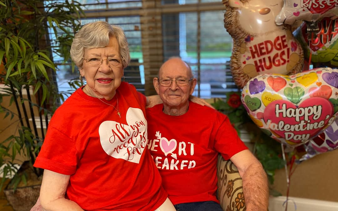 Morning Pointe Residents Celebrate Love This Valentine's Day