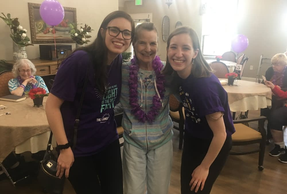 Morning Pointe Celebrates the Longest Day to Honor Alzheimer's Caregivers