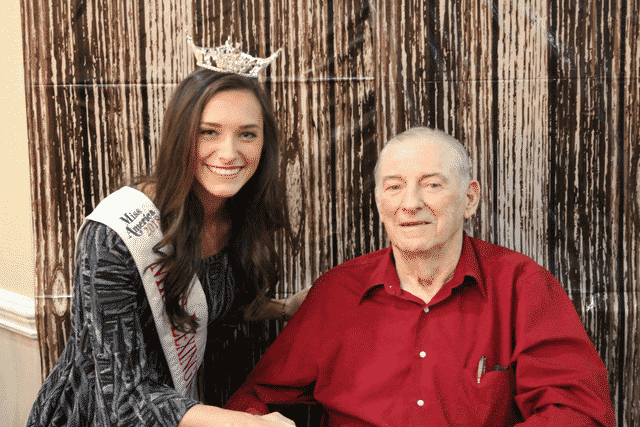 Miss Outstanding Kentucky Teen Performs at Morning Pointe