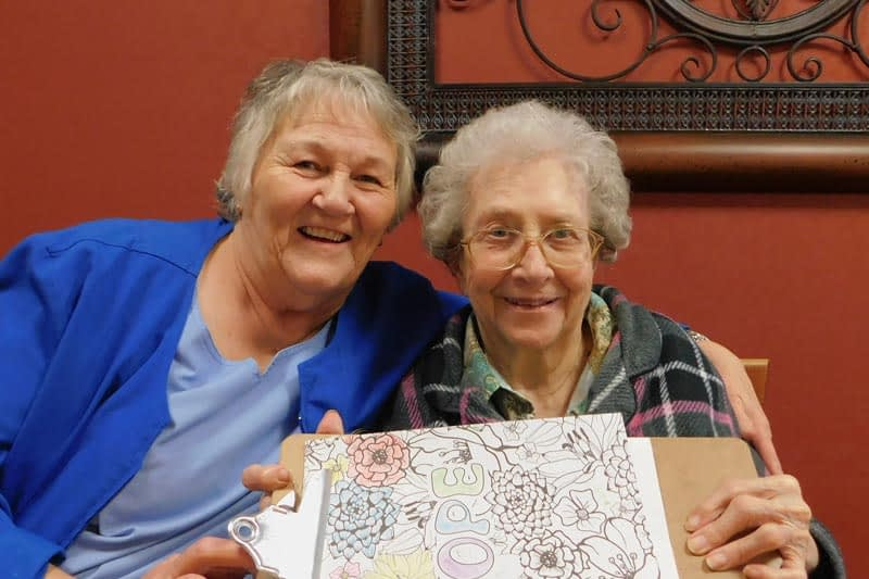 Morning Pointe Nurse Supports Resident's Passion for Art
