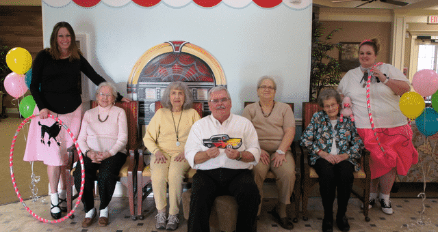 """Morning Pointe Hosts """"'50s-themed Valentine's Party"""""""