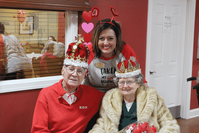 "Morning Pointe Crowns Valentine's ""King and Queen"""