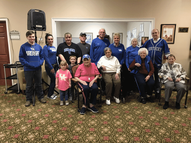 Morning Pointe Hosts March Madness Family Night