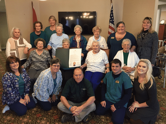 Morning Pointe Receives Proclamation from TN State Senator