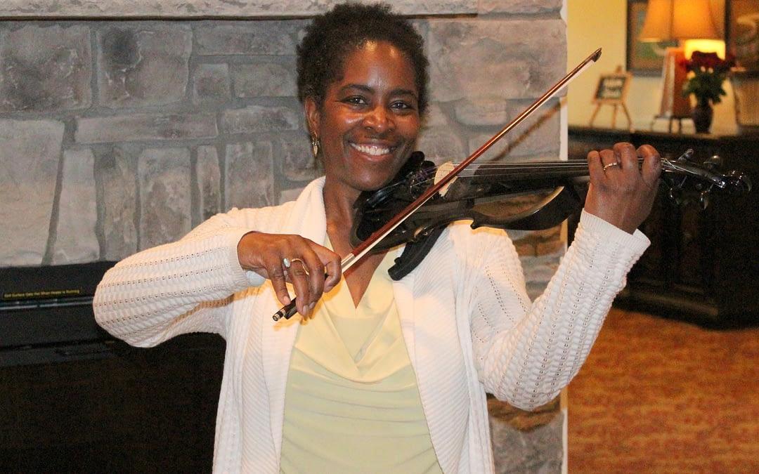 Suzuki-method Violinist Pulls Heartstrings at Morning Pointe