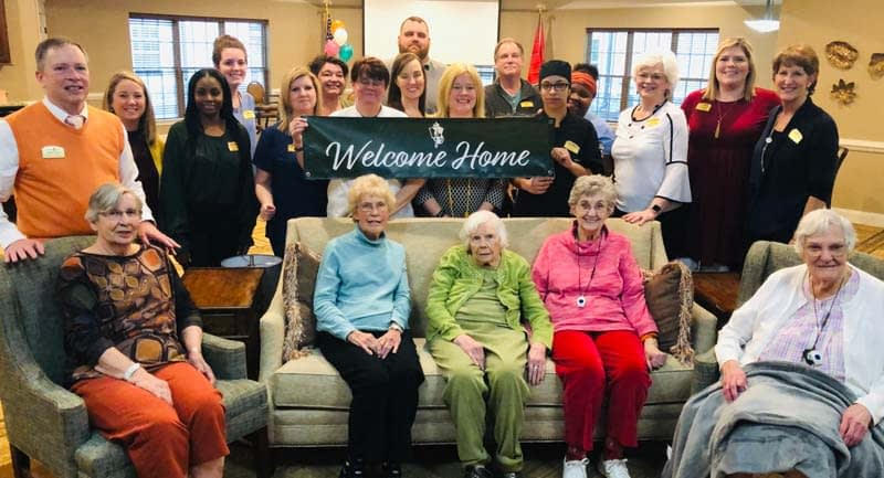 Morning Pointe Welcomes Residents to Their New Home