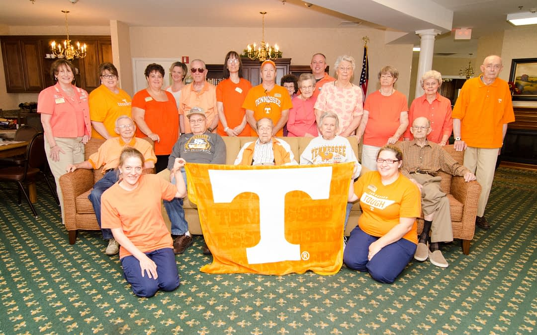 Morning Pointe Residents Honor Pat Summitt