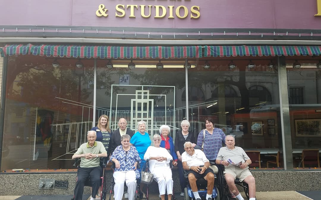 Morning Pointe Residents Visit Pendleton Art Center