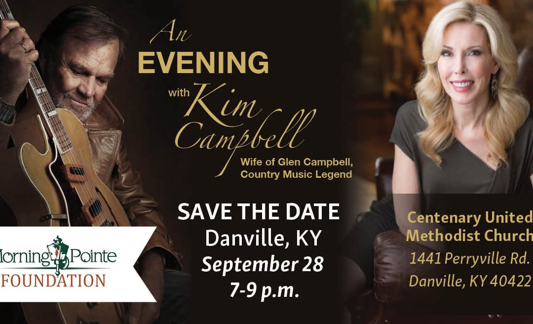 """Morning Pointe Foundation Hosts """"An Evening with Kim Campbell"""" Sept. 28"""
