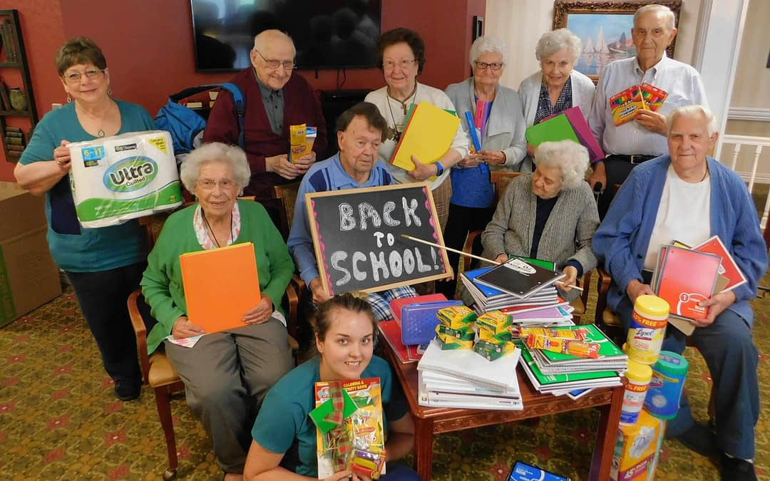 """Morning Pointe Hosts """"Back to School Drive"""" for Madison County Resource Center"""