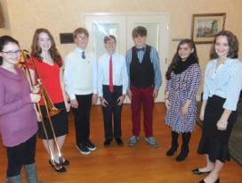 Homeschool Music Students Wonderful Concert