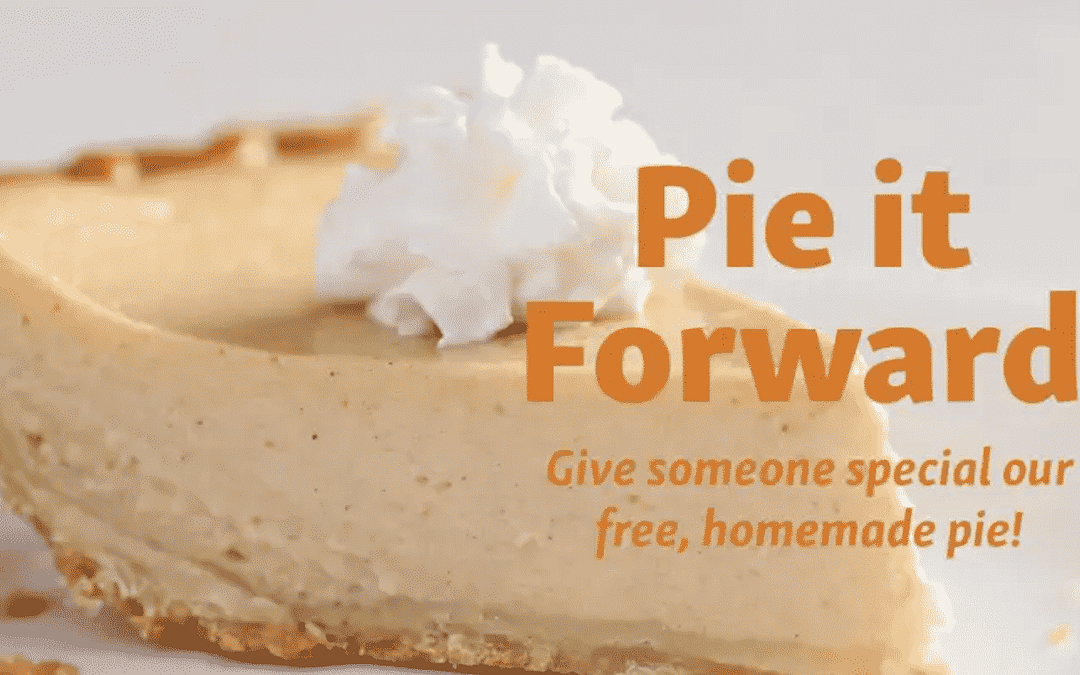 "Morning Pointe Hosts ""Pie It Forward"""