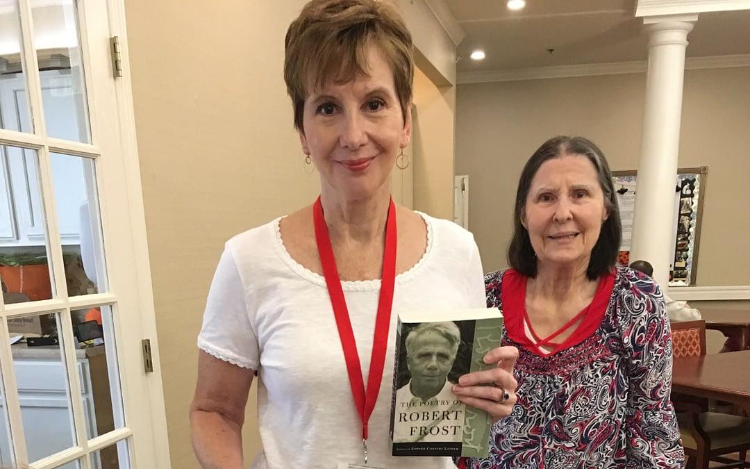Volunteer Brings Pet, Poetry to Morning Pointe