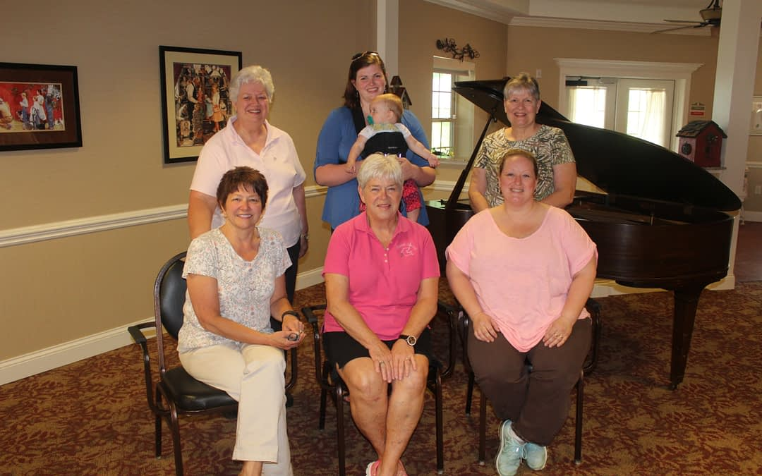 Morning Pointe Shares 'Sweet Spirit' with Singing Group