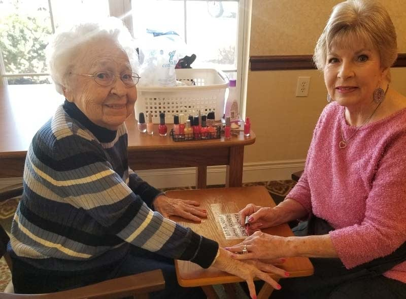 Morning Pointe Volunteer Makes Difference