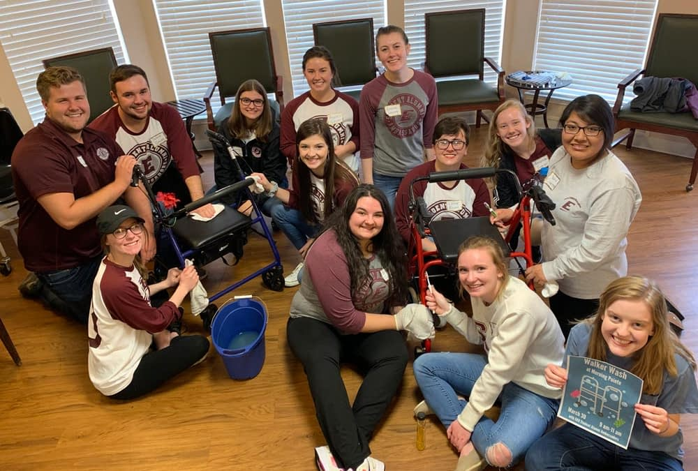Morning Pointe Partners with EKU for Walker Wash Event