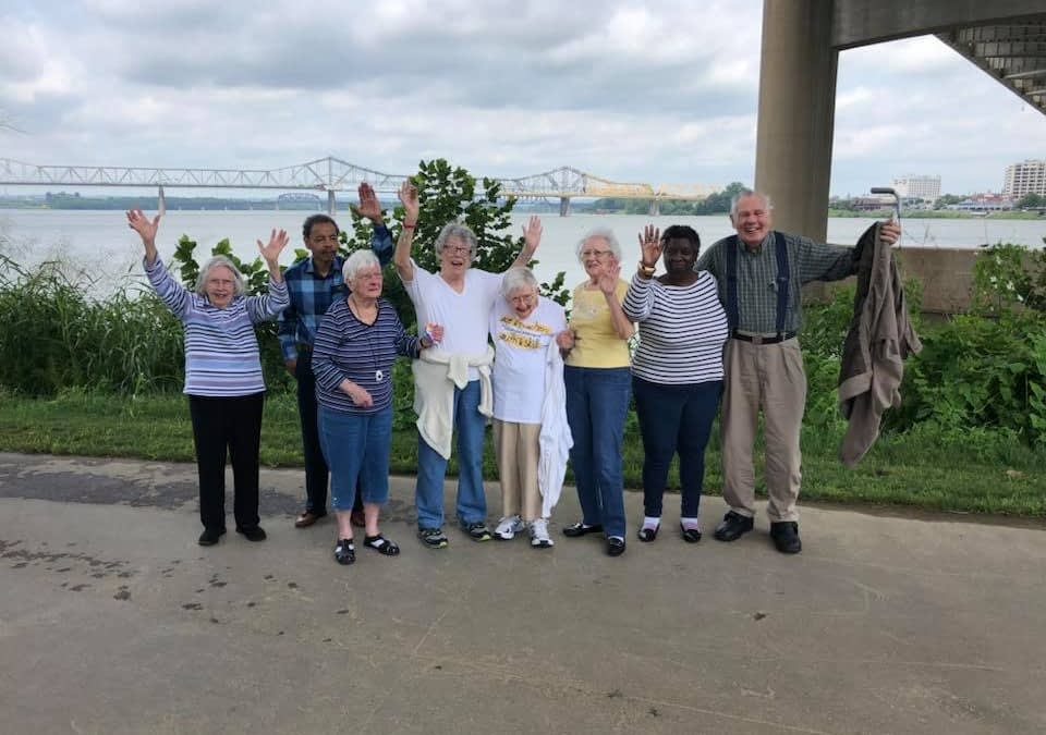 Morning Pointe Residents Enjoy Picnic by the Waterfront