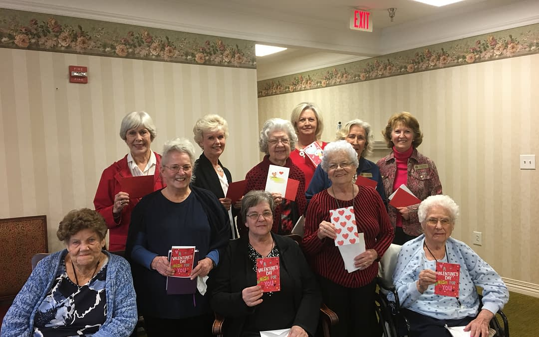 Luncheon Pilot Club Makes Special Delivery at Morning Pointe