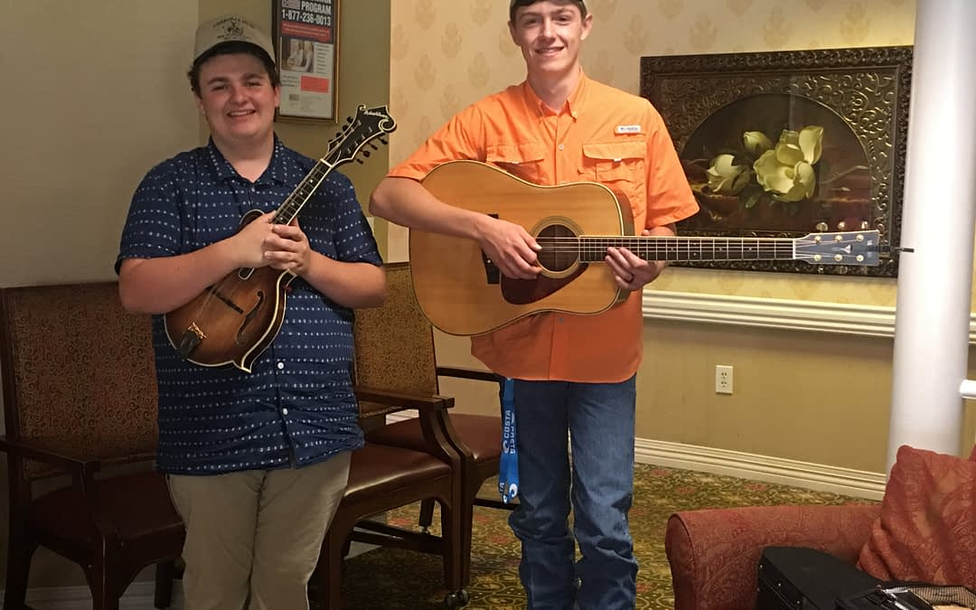 Sweetwater Band Makes First Performance at Morning Pointe