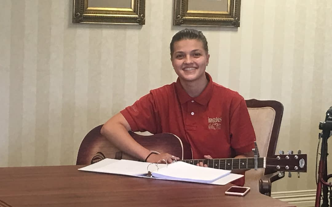 Local Guitarist Strums Songs for Morning Pointe Seniors