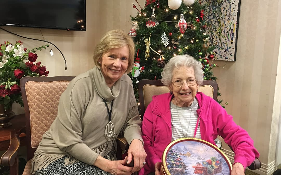 Morning Pointe Resident Wins Winter Wreath Contest