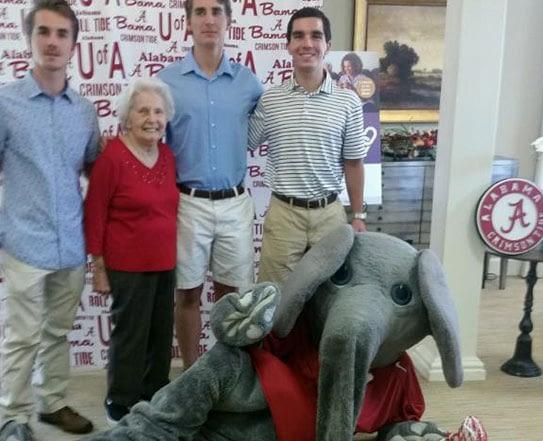 Big Al Visits Tuscaloosa