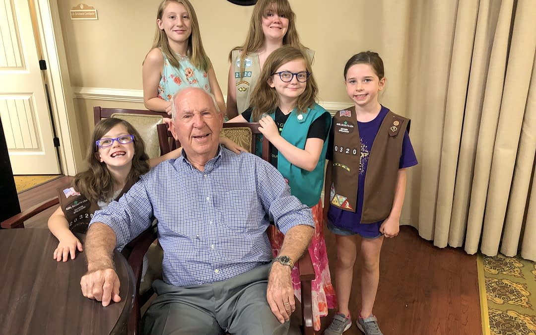 """Morning Pointe """"Grandpa & Me Ice Cream Social"""" with Local Girl Scouts a """"Huge Success"""""""