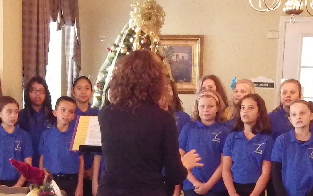 W. L. Swain Elementary School Brings Seasonal Cheer to Morning Pointe