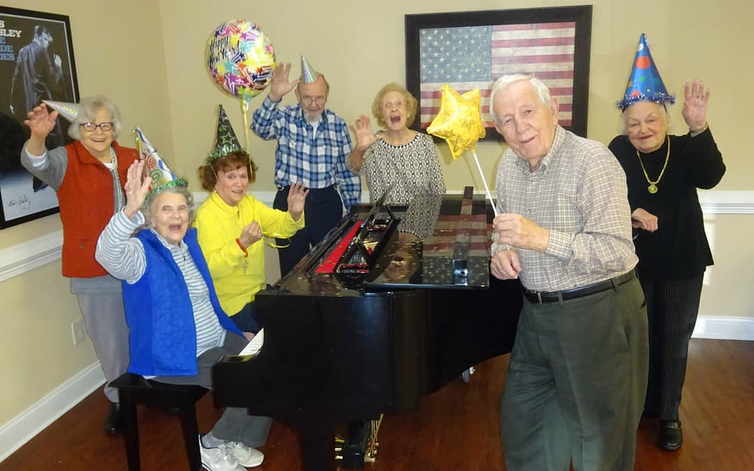 Happy New Year from Morning Pointe Senior Living