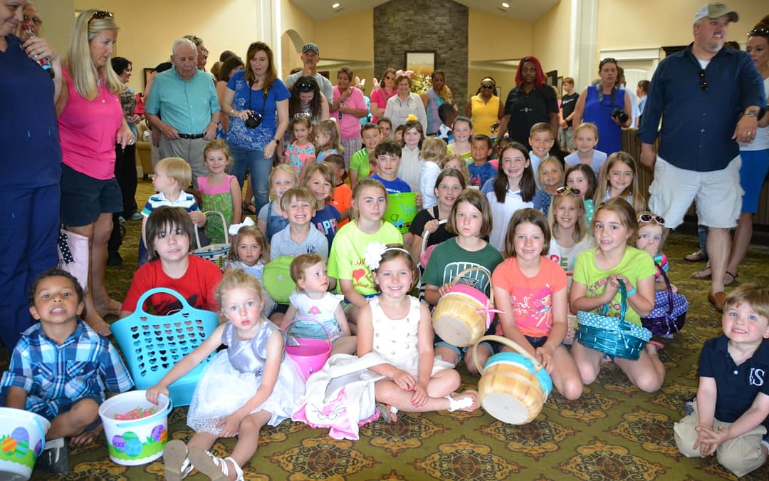 """Morning Pointe Communities Host """"Easter Egg-Stravaganza"""""""