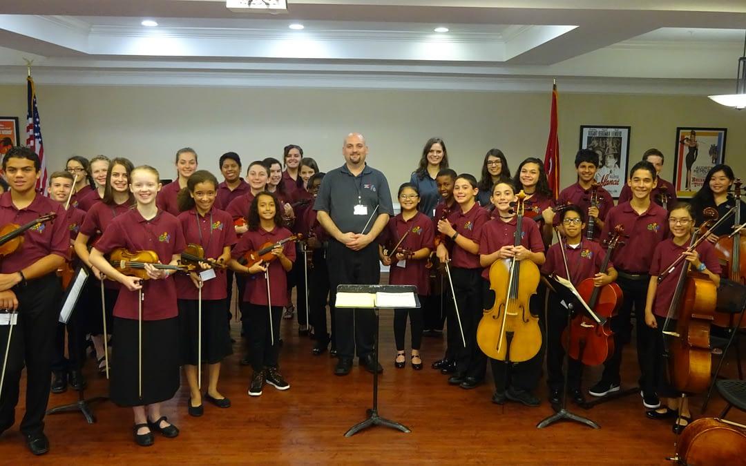 """""""At First Sight"""" String Ensemble Serenades Morning Pointe Seniors"""