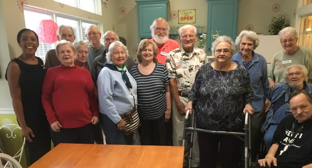 Creative Story Project Makes Morning Pointe Residents Active Participants in Storytelling
